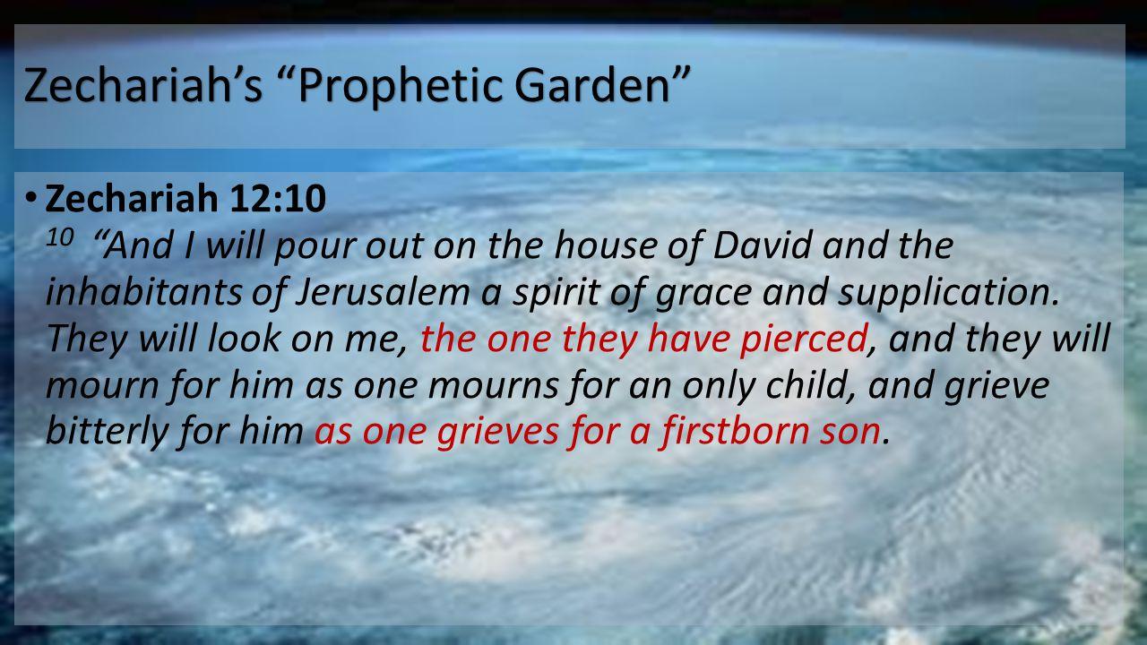 Zechariah's Prophetic Garden