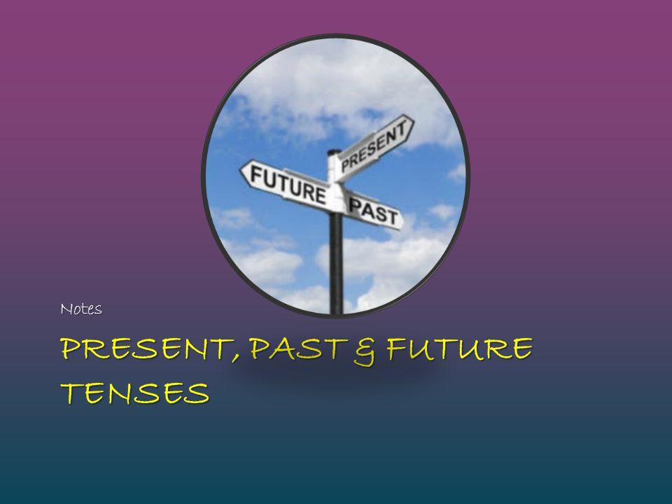 Present, Past & Future tenses