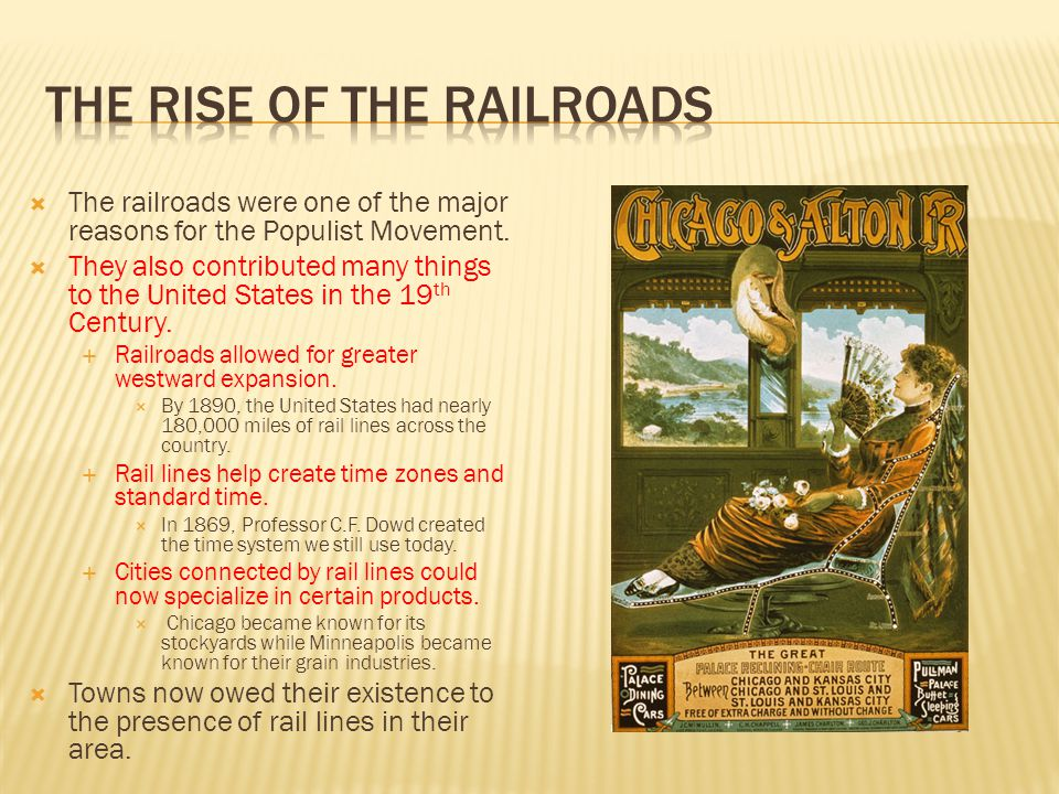 The Rise of the Railroads