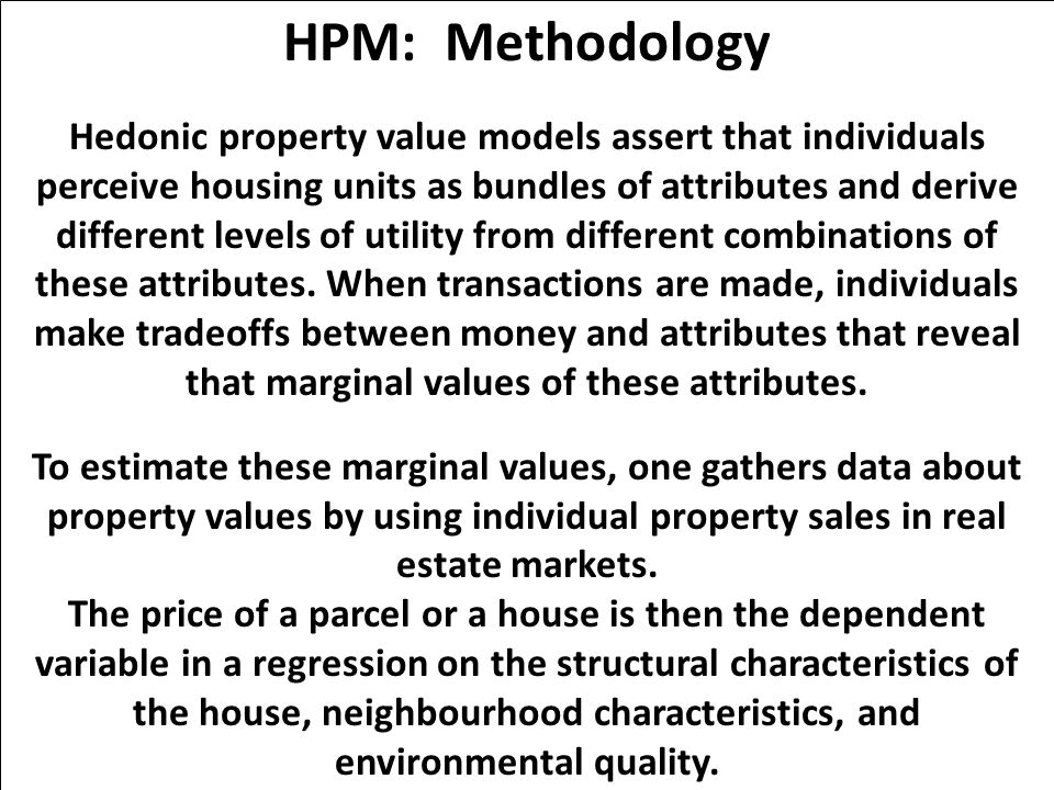 HPM: Methodology