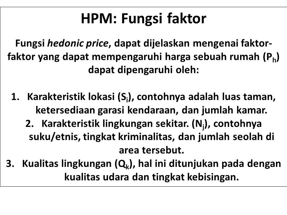 HPM: Fungsi faktor