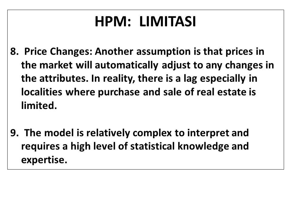 HPM: LIMITASI