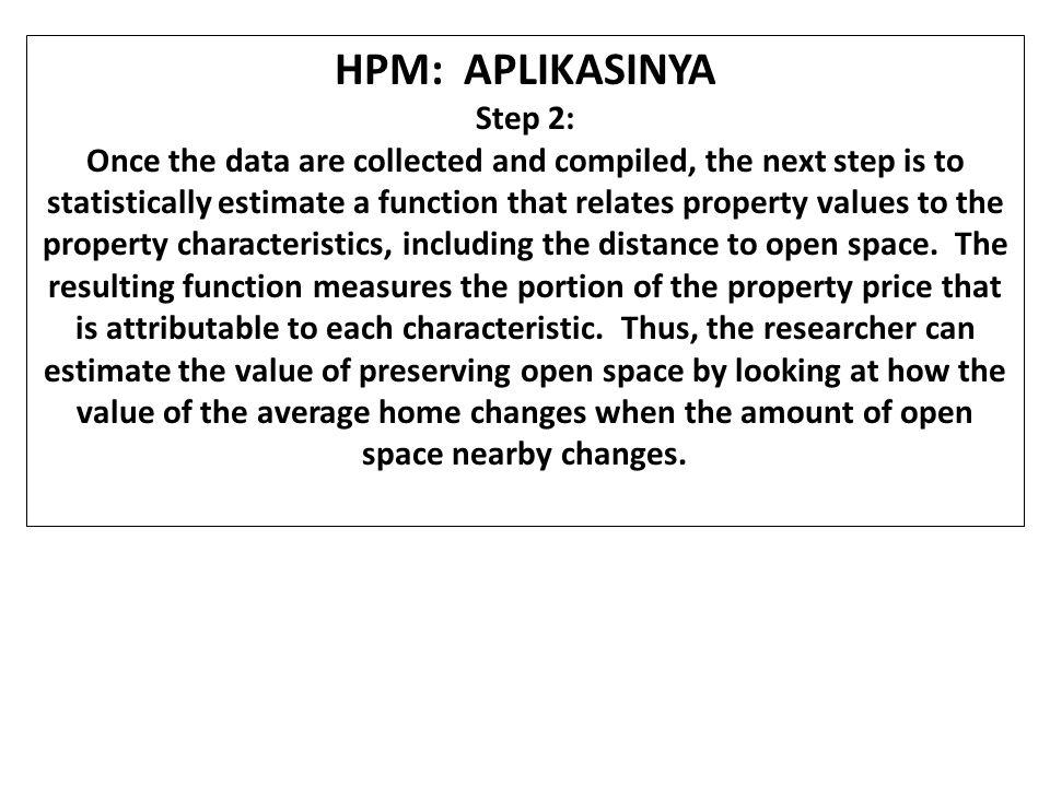 HPM: APLIKASINYA