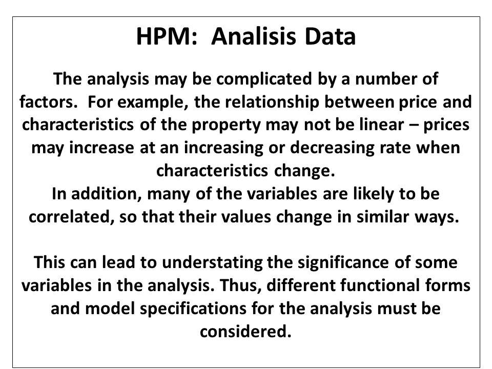 HPM: Analisis Data
