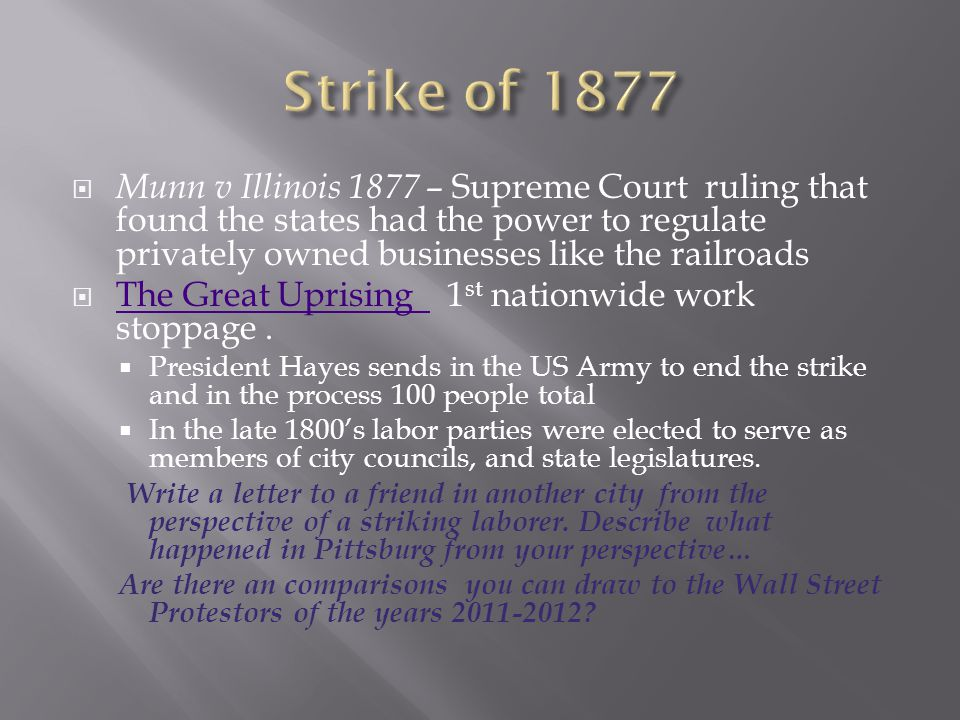 Strike of 1877