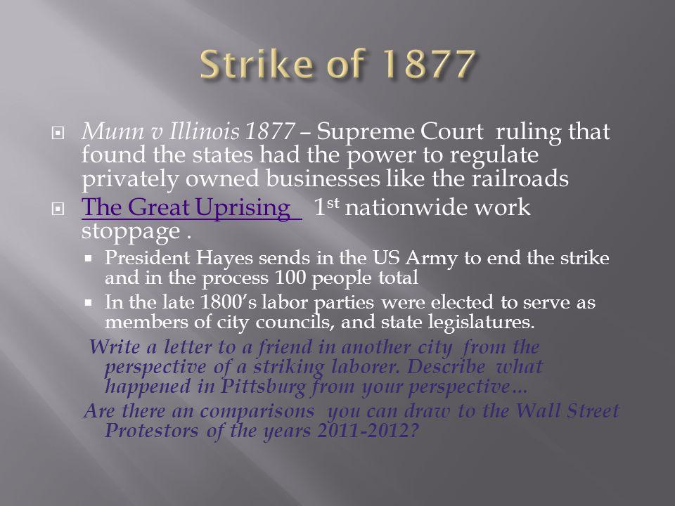 Strike of 1877
