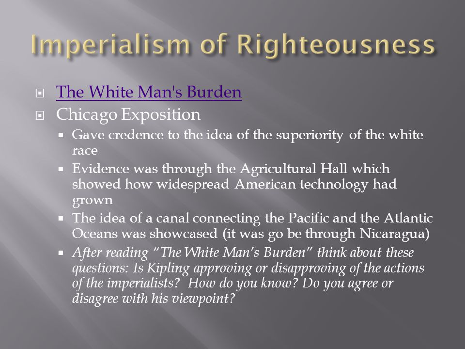 Imperialism of Righteousness