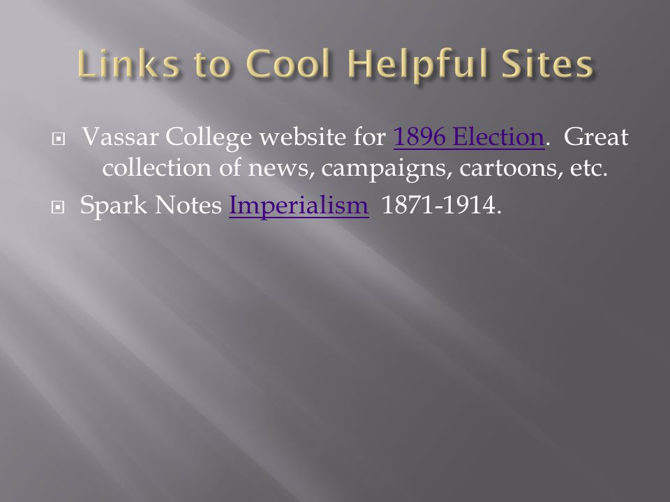 Links to Cool Helpful Sites