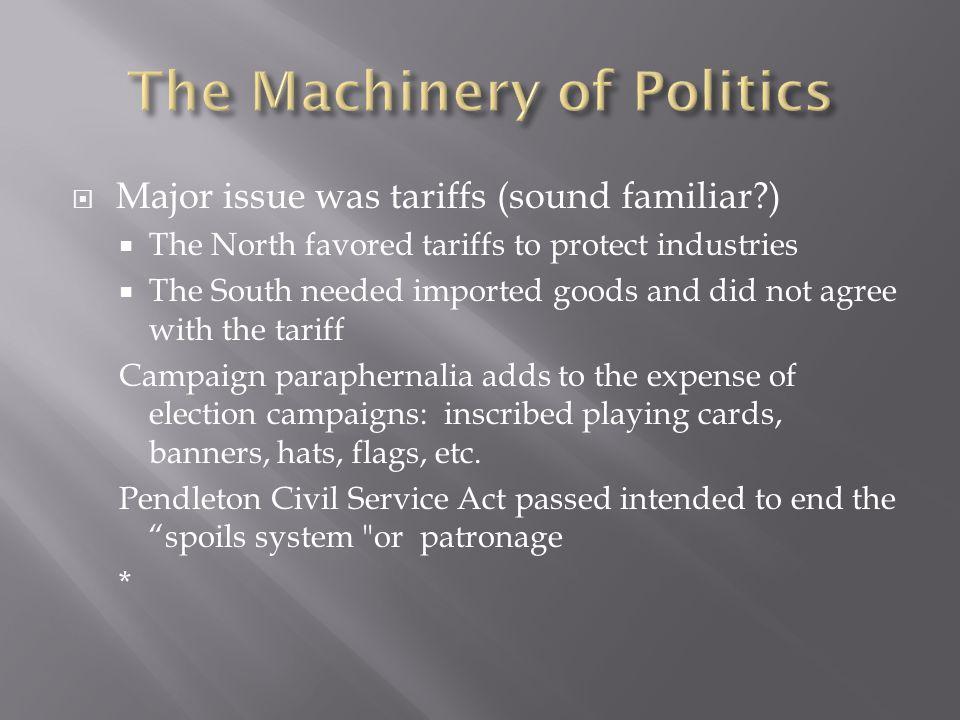 The Machinery of Politics