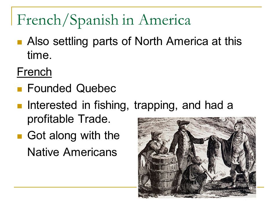 French/Spanish in America