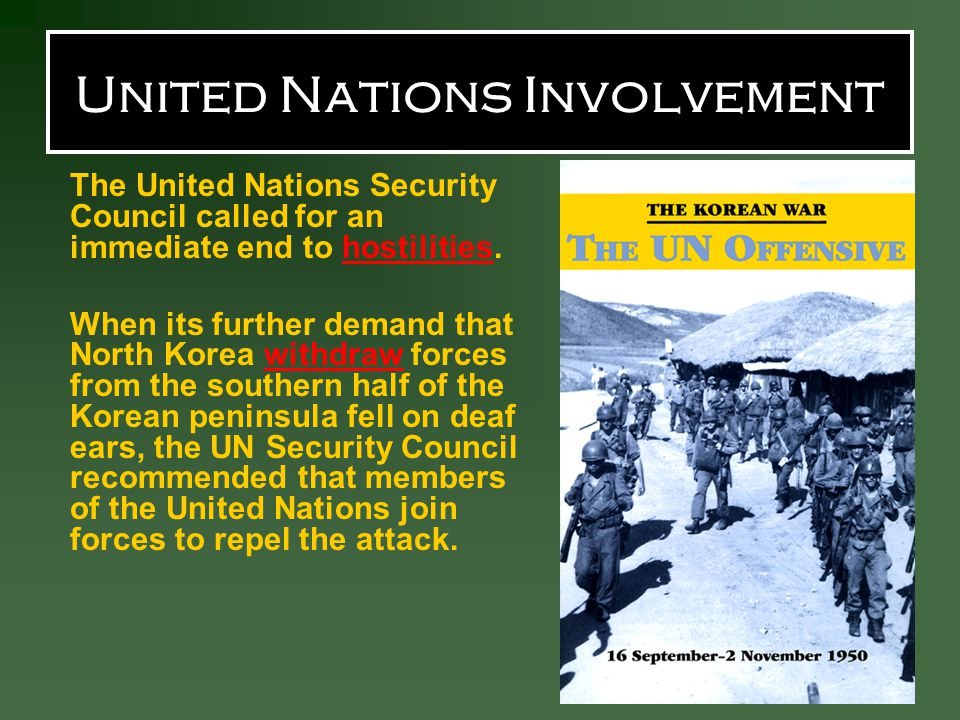 United Nations Involvement