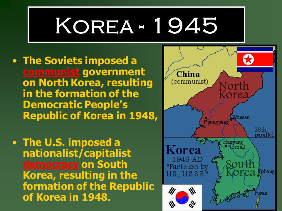 Korea - 1945