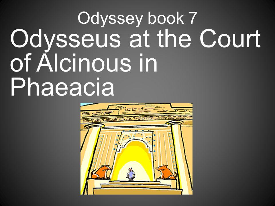 Odysseus at the Court of Alcinous in Phaeacia