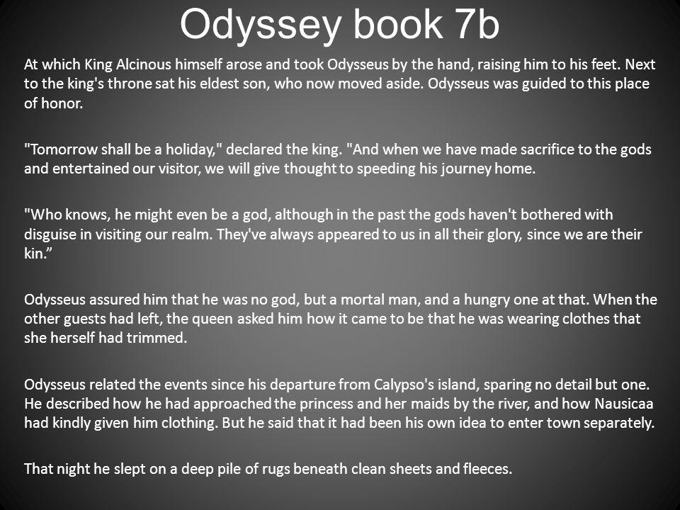 Odyssey book 7b