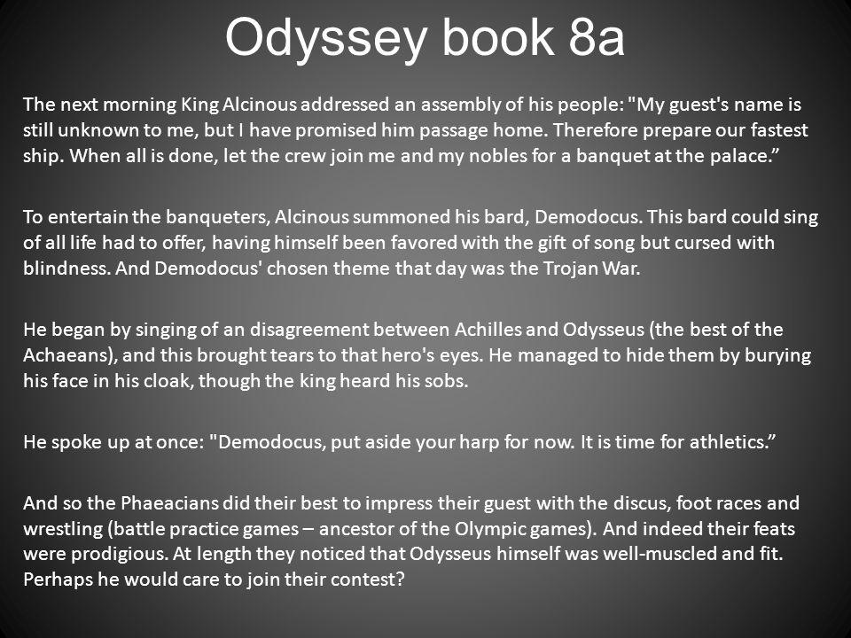 Odyssey book 8a