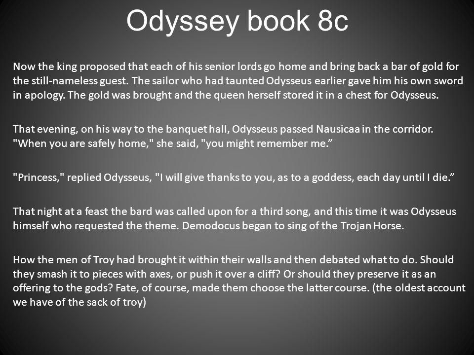 Odyssey book 8c