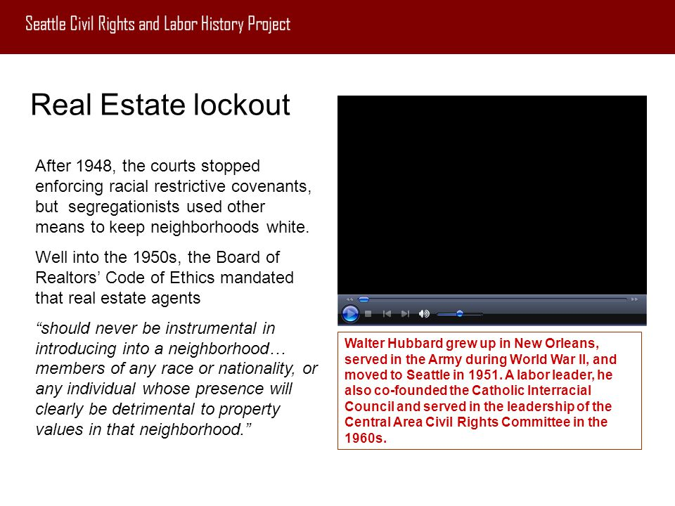 Real Estate lockout