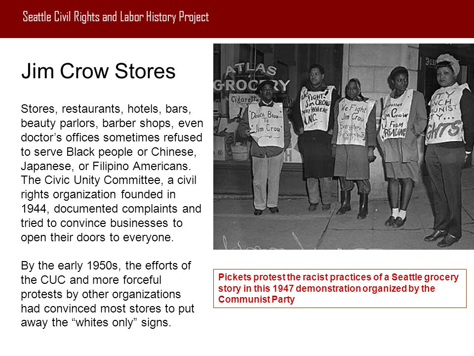 Jim Crow Stores