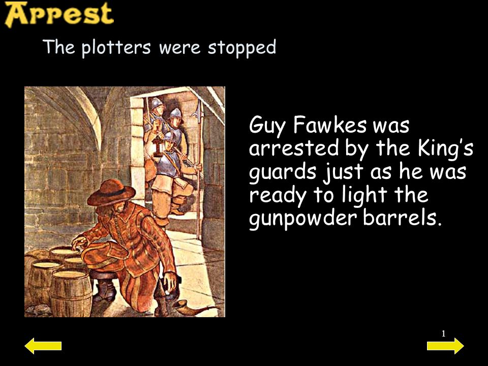 The plotters were stopped