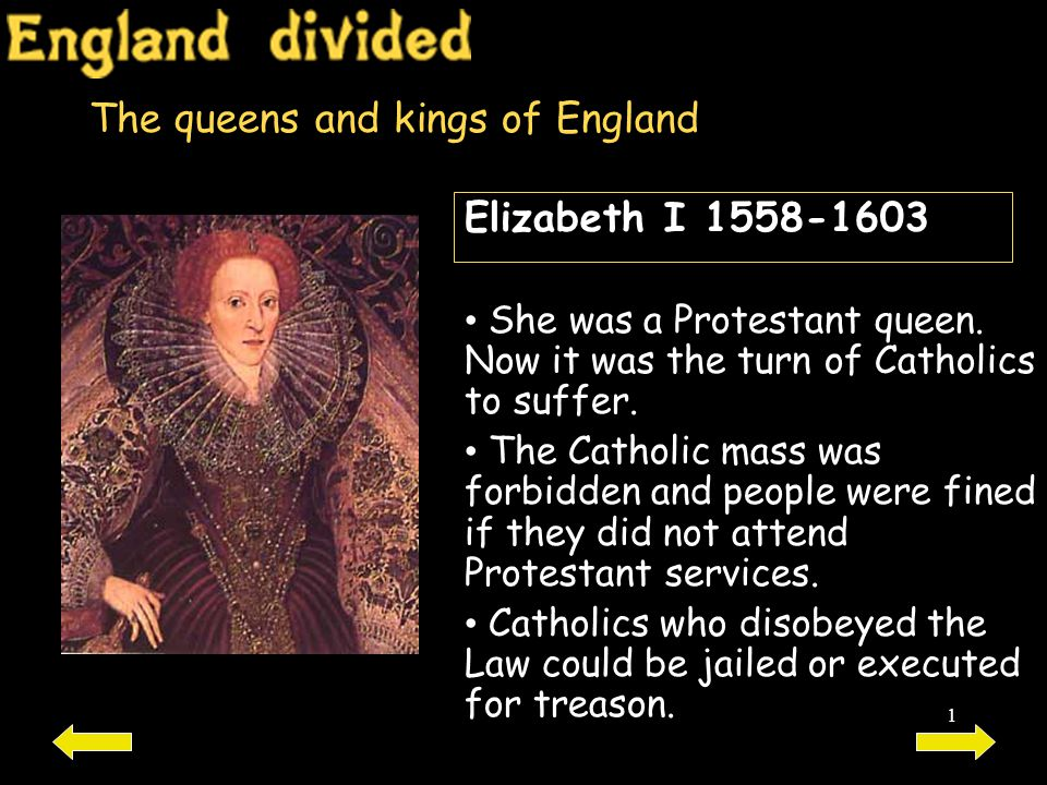 The queens and kings of England
