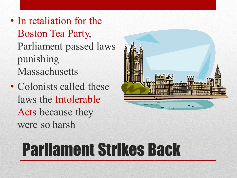 Parliament Strikes Back