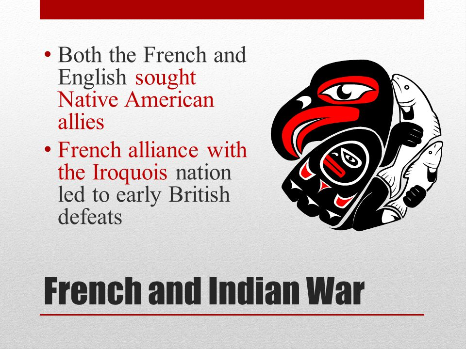 Both the French and English sought Native American allies
