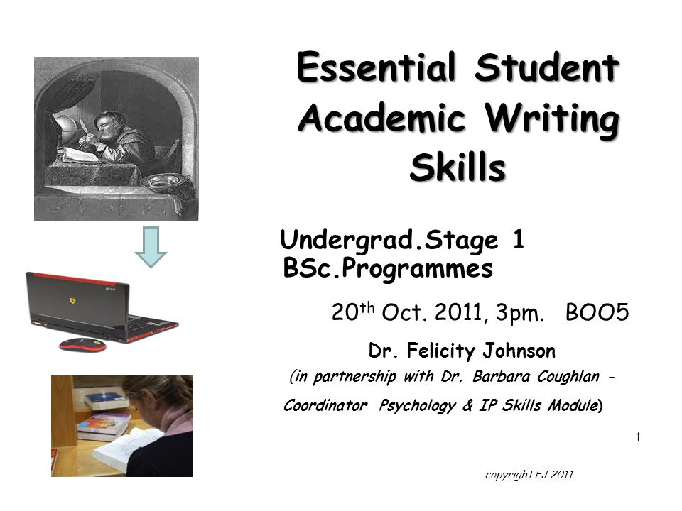 Essential Student Academic Writing Skills