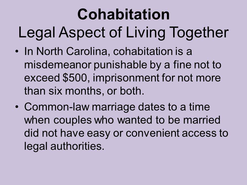 Cohabitation Legal Aspect of Living Together