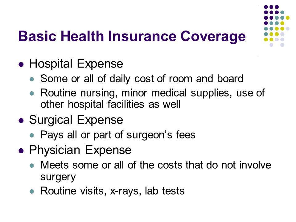Basic Health Insurance Coverage