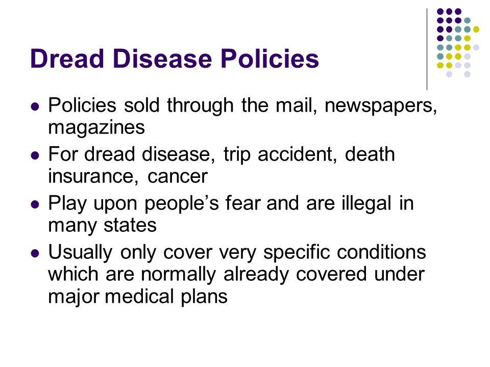 Dread Disease Policies