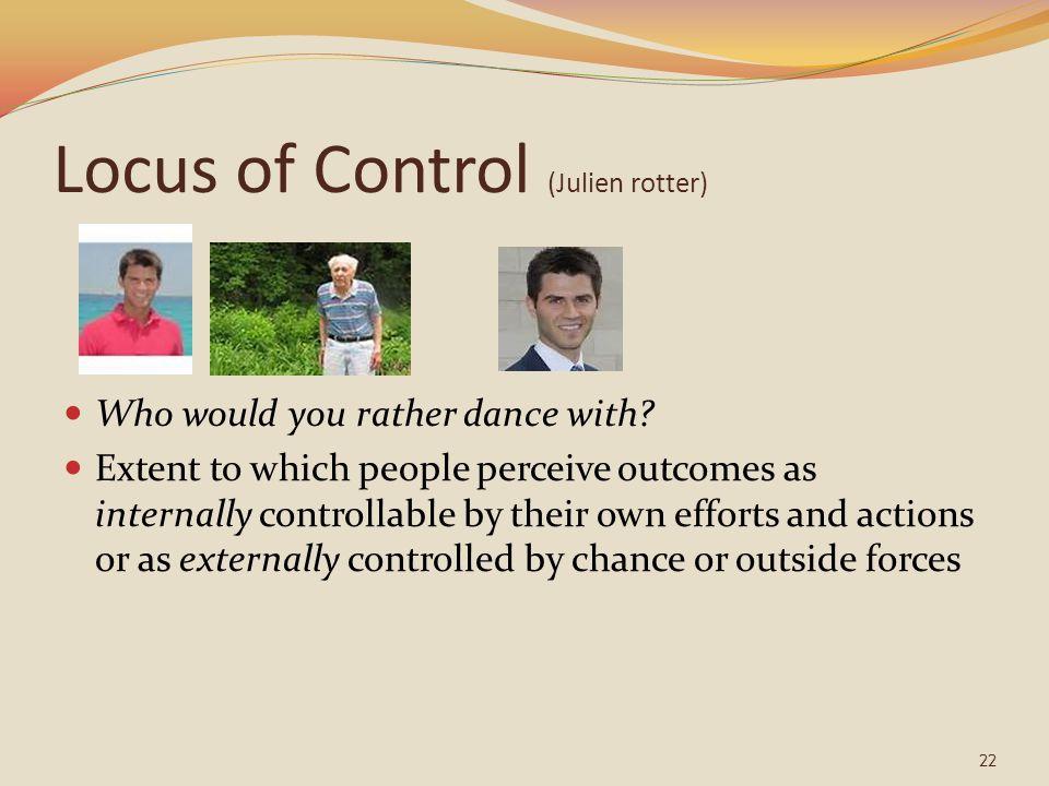 Locus of Control (Julien rotter)