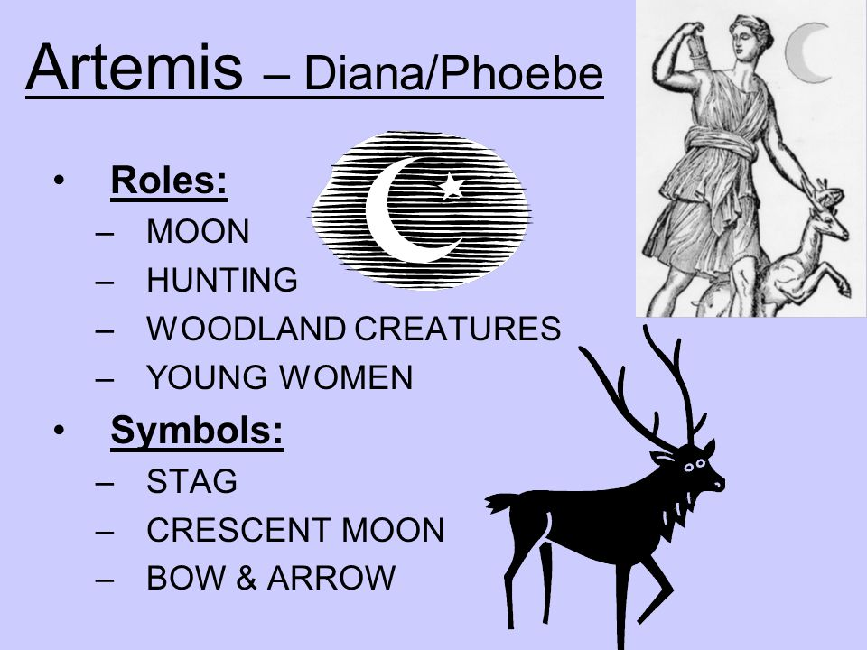 Artemis – Diana/Phoebe