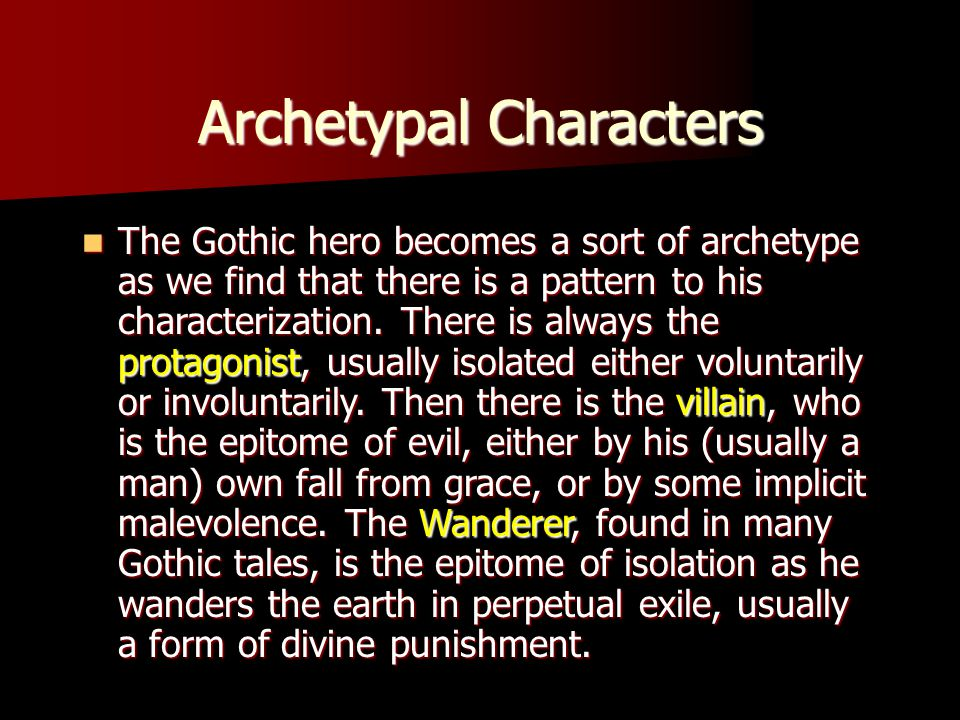 archetypal characters Enter an age-old narrative filled with supernatural wonder meet the cast of the hero's journey in article or infographic format.