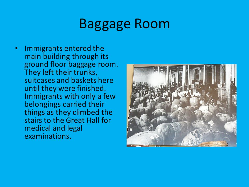 Baggage Room