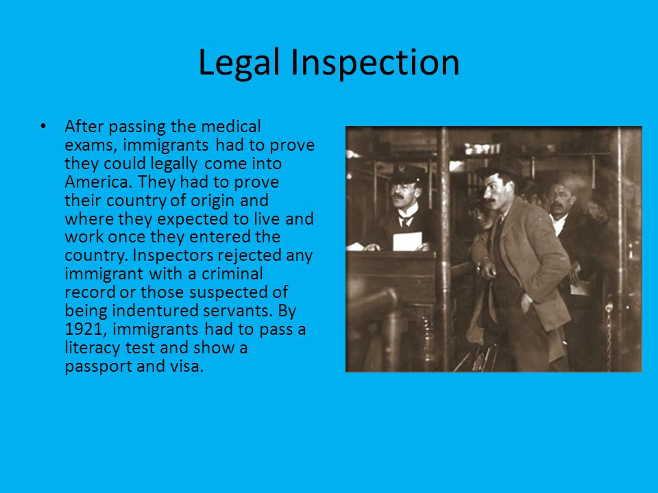 Legal Inspection