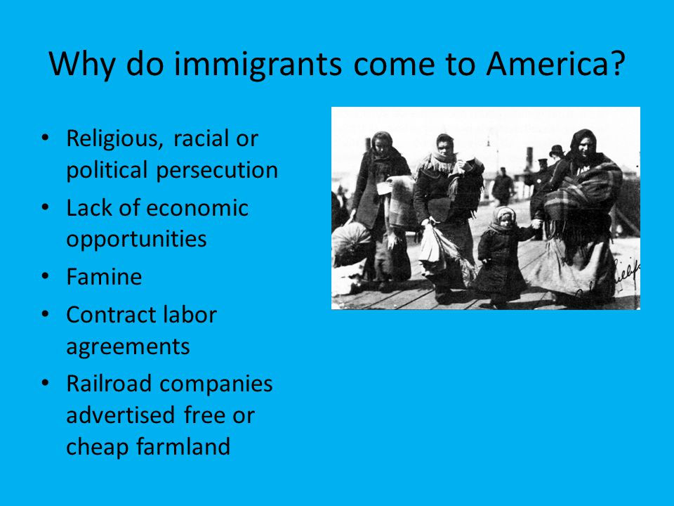 immigrants and the united The aclu immigrants' rights project is dedicated to expanding and enforcing the civil liberties and 41 million there are 41 million immigrants in the united.