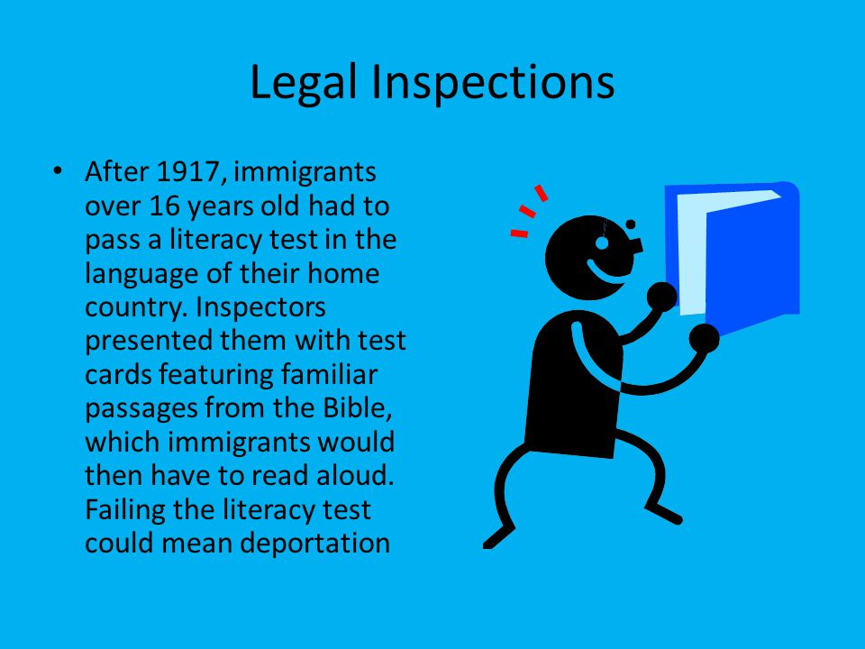 Legal Inspections