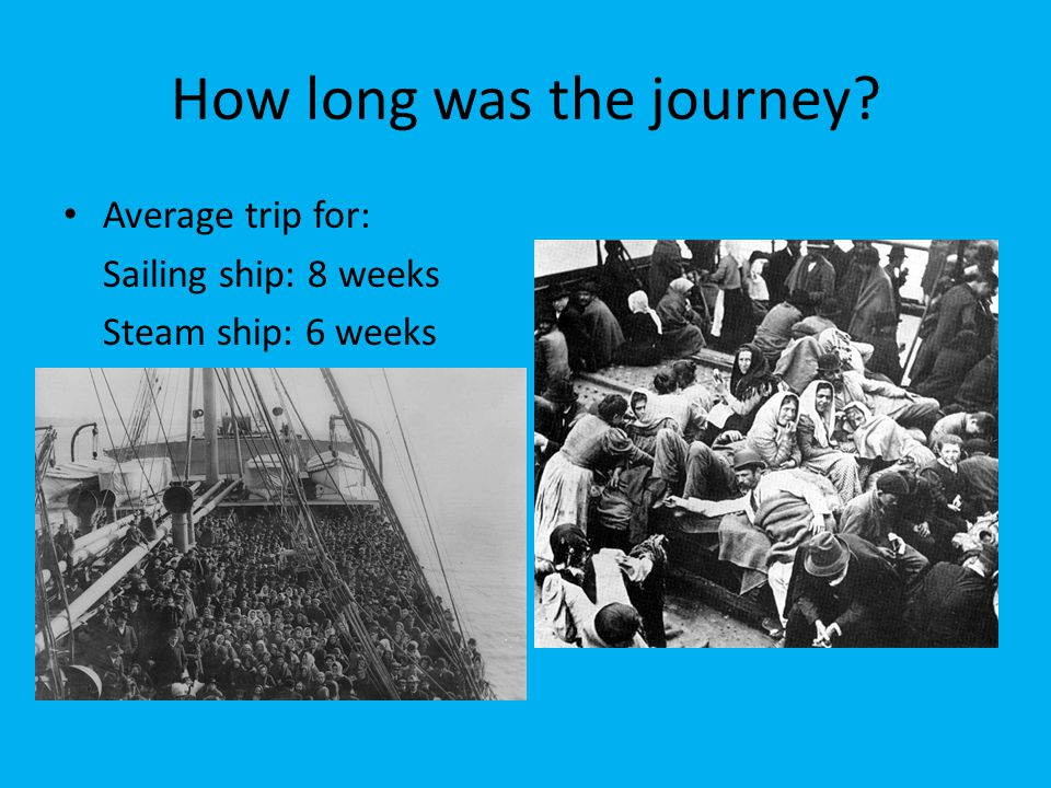 How long was the journey