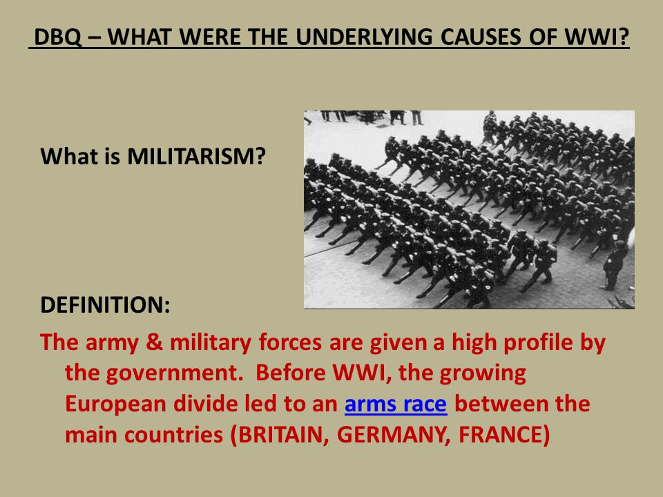 main causes of wwii essay Some long-term causes of world war ii are found in the conditions preceding world war i and seen as common for both world wars the main port of the area.