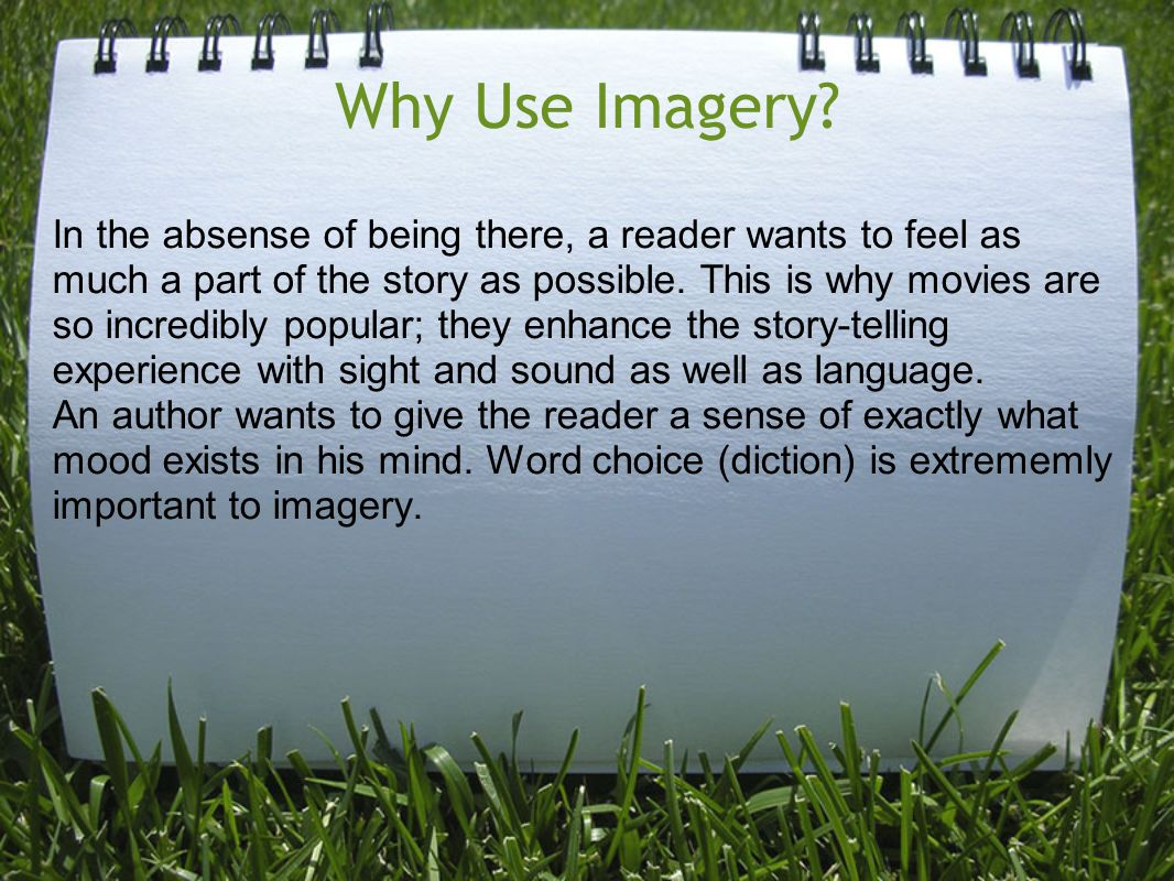 Why Use Imagery