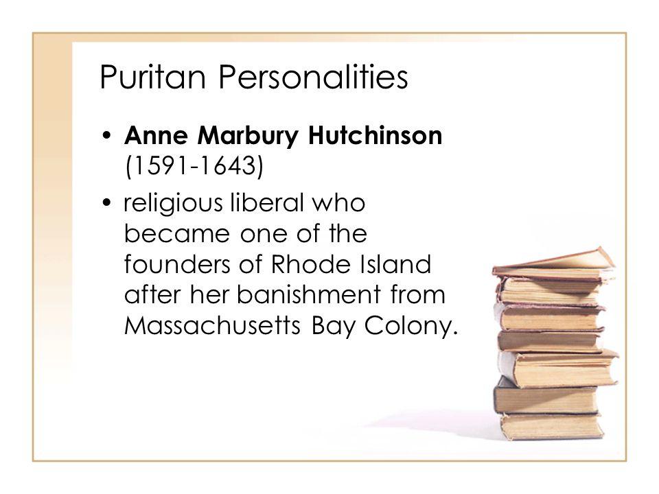 Puritan Personalities