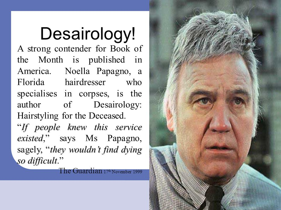 Desairology!