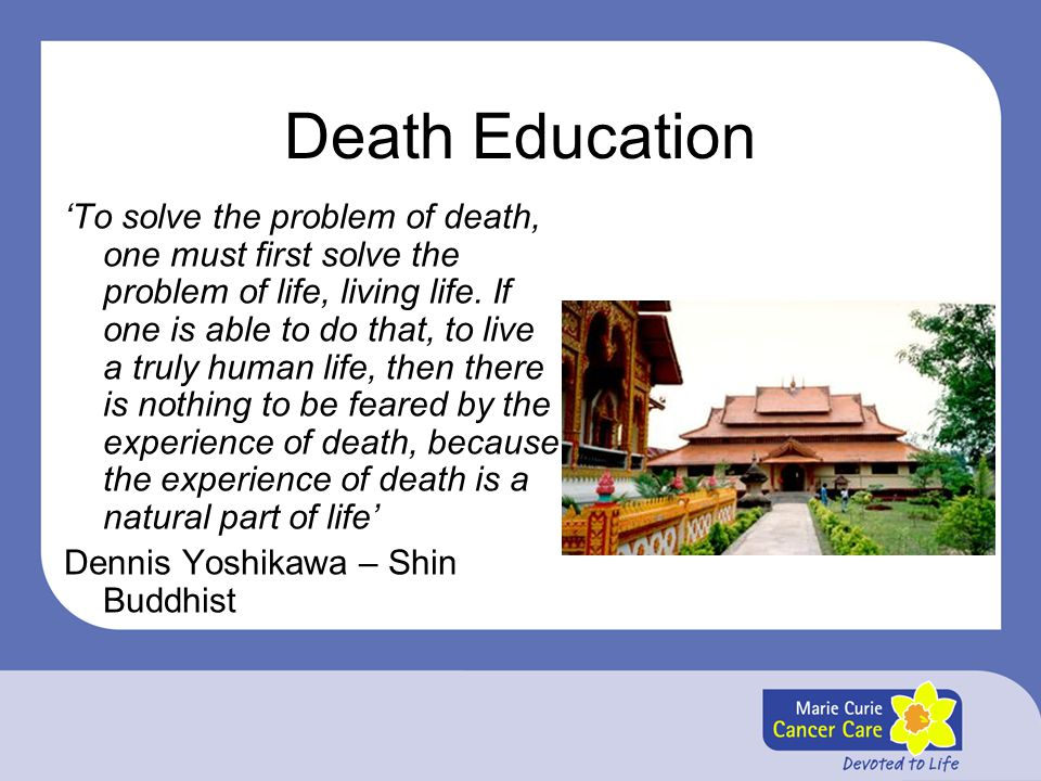 Death Education