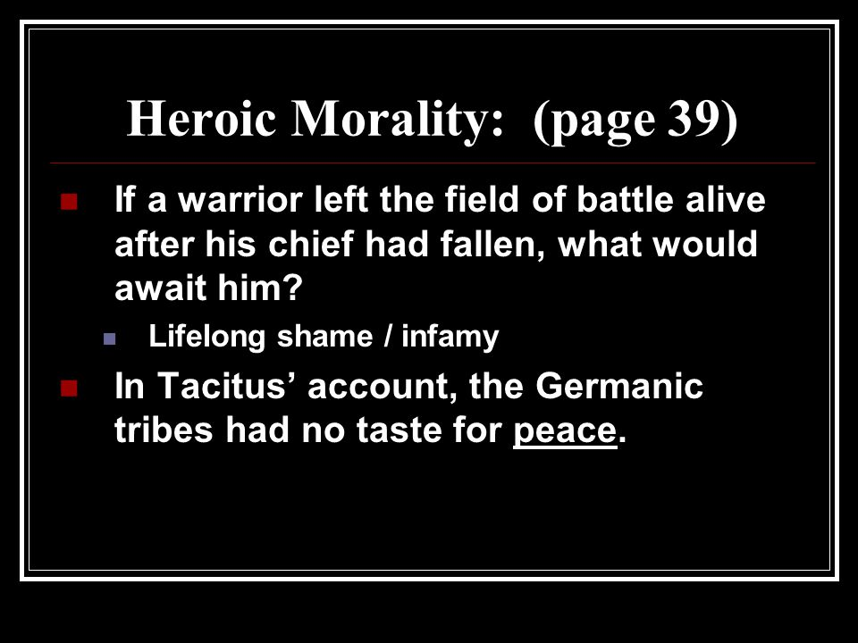 Heroic Morality: (page 39)