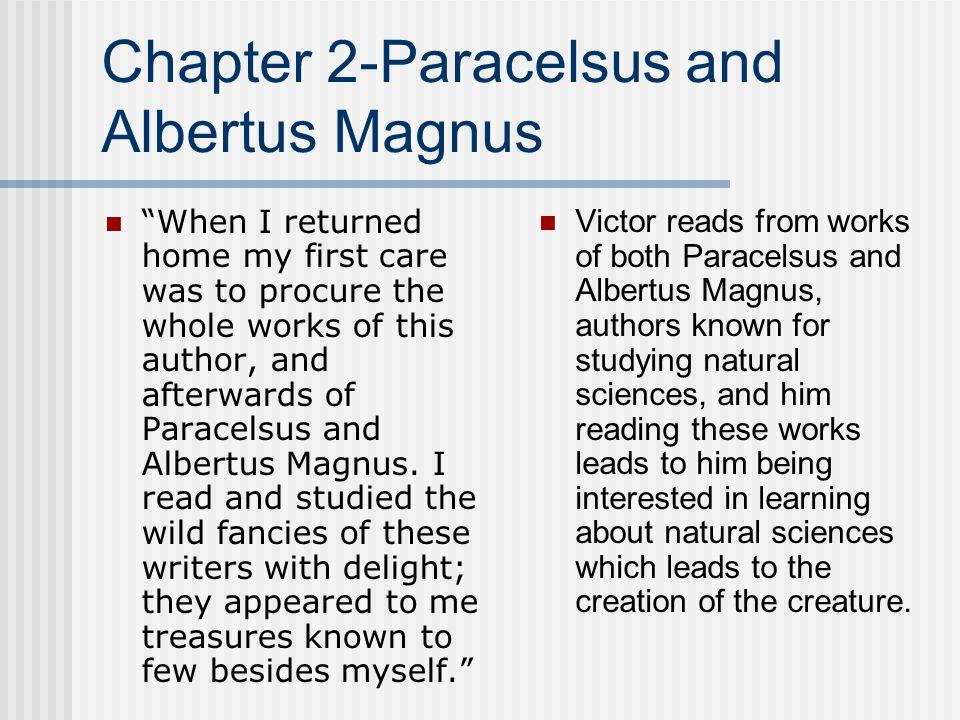 Chapter 2-Paracelsus and Albertus Magnus