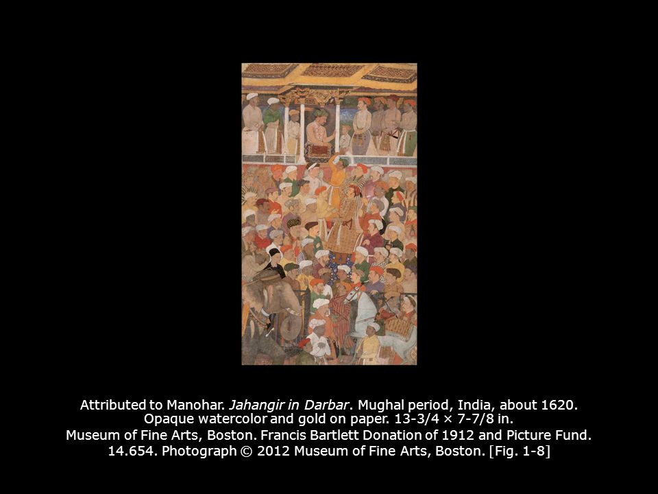 Attributed to Manohar. Jahangir in Darbar