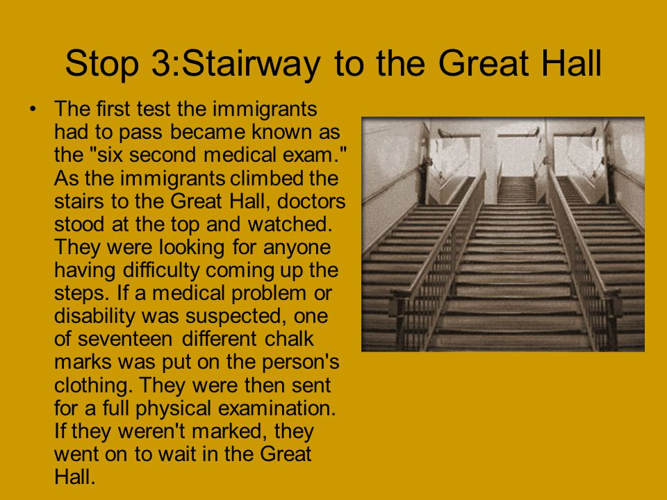 Stop 3:Stairway to the Great Hall