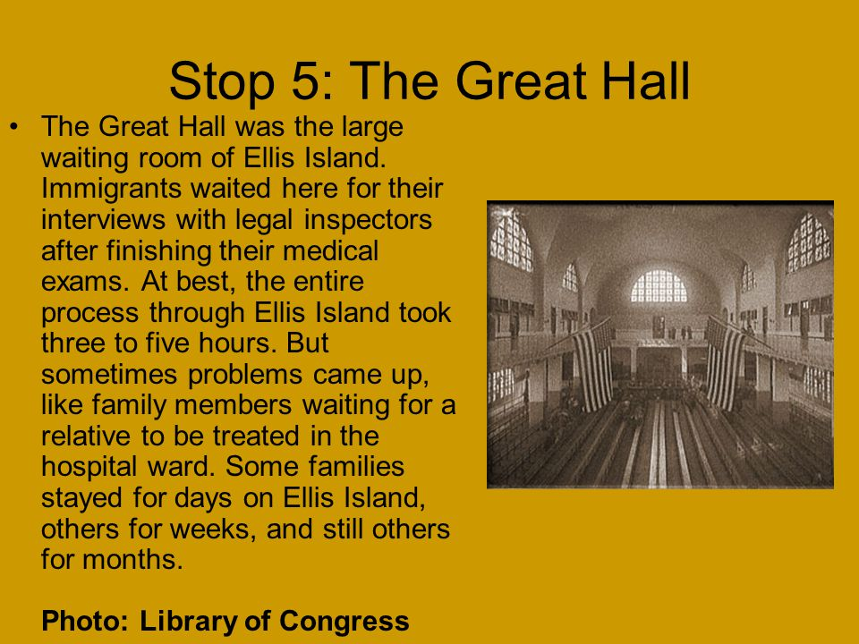 Stop 5: The Great Hall