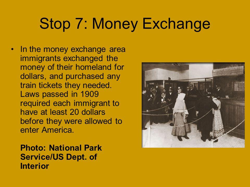 Stop 7: Money Exchange