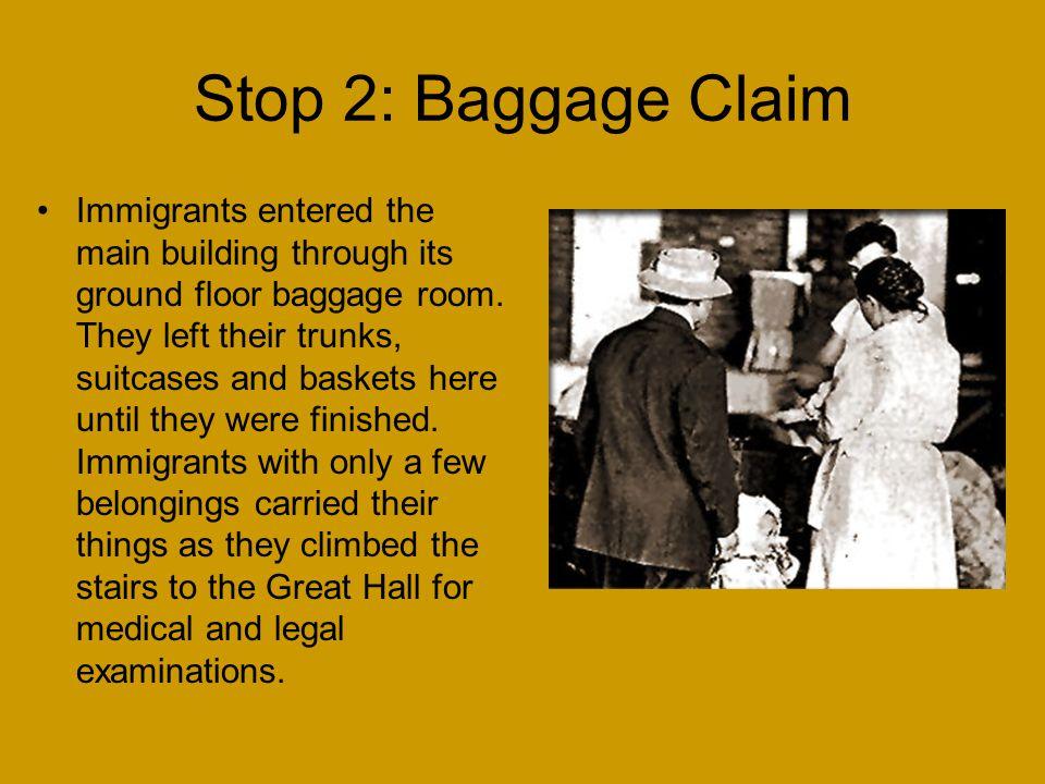 Stop 2: Baggage Claim